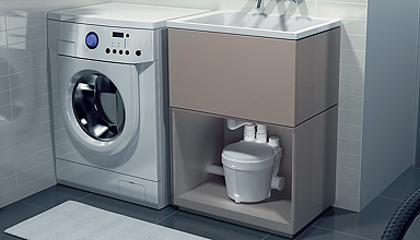 Watermatic pompe for Lavello per lavanderia